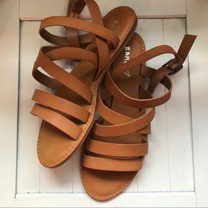 Cognac sandal